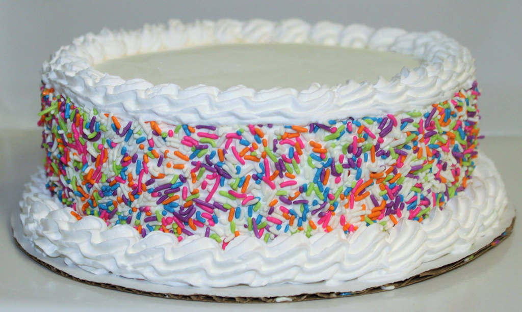Weir's Ice Cream Cake