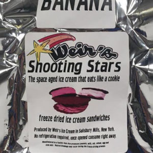 Freeze Dried Banana Ice Cream
