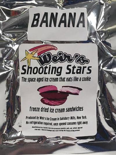 Freeze Dried Banana Ice Cream